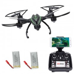 JXD Χ-Predators 510W με REAL TIME WIFI FPV CAMERA / Αυτόματη επιστροφή & προσγείωση / Height Holding / Headless Mode