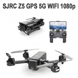 SJRC Z5 5G WIFI DOUBLE GPS FHD 1080p - BLACK