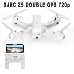 SJRC Z5 DOUBLE GPS HD 720p - WHITE