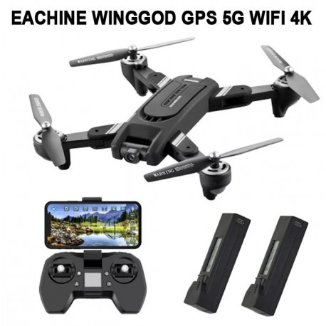 EACHINE EG16 WINGGOD 5G WIFI GPS UHD 4K DUAL CAMERA